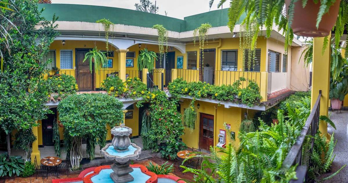 backpacker hostel in Antigua Guatemala